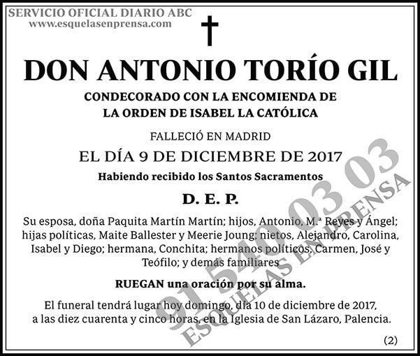 Antonio Torío Gil